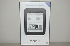 Barnes & Noble Nook Simple Touch 2GB, Wi-Fi, 6in eBook e Reader Black New Sealed