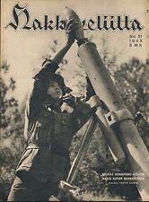 Finland Wartime Magazine Hakkapeliitta 1943 #31 - WWII -Finnish Grenade Launcher