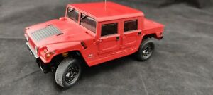 Hummer H1 Rot Kyosho Mini Z RC Car mit Overland Chassis RA3 Unit  27 MHz