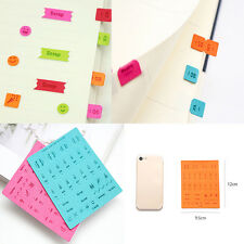 1Sheet Number Face Expression Scrapbooking Sticker Decal Diary Notebook Decor