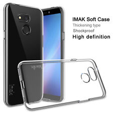 Imak For HTC Desire 12s, Shockproof Clear Soft Silicone Transparent Cover Case