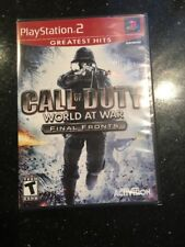 Call of Duty: World at War Final Fronts [Greatest Hits] (Sony PlayStation 2 New