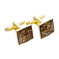 Swarovski® Crystals Gold Patination cuff link new collection   Gift box free