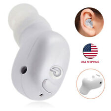 Mini Bluetooth Earpiece Stereo Headphone for iPhone 11 Xr 8 7 Se Samsung Lg Blu