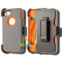 For Apple iPhone 7/8/SE2 Case (Clip fits Otterbox Defender) Holster Cover Rugged