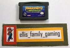 Mario Party Advance Nintendo Game Boy Advance GBA 2005 Game Cleaned Ships Fast