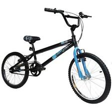 "Urban Gorilla Beast Kids Freestyle 20"" Wheel BMX Bike Cycle Black & Blue Boys"