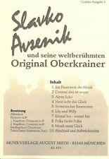 Oberkrainer Besetzung COMBO Noten : AVSENIK seine weltberühmten Oberkrainer - 3