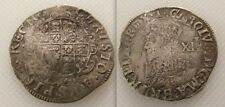 COLLEZIONISMO MARTELLATA Silver King Charles mi SHILLING medaglia / BELL