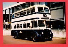 Birmingham Bus Photo ~ WMPTE 3182 - 1954 Crossley Daimler CVG6 - Colmore Circus