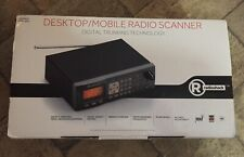New Radio Shack Pro-652 Desktop/Mobil Radio Scanner Digital Trunking Technology