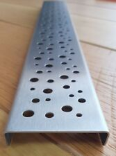Custom Made Stainless Steel Metal Drain Cover Gully Grid Grate Wet Room 600mm