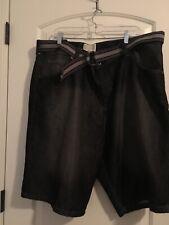 Colours Alexander Julian Men's Blackish Denim Jean Belted Shorts Sz 42