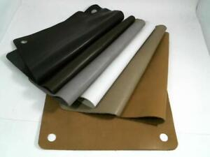 """Genuine Cow Hide Leather Rectangular 8"""" x 10"""" Swatches"""
