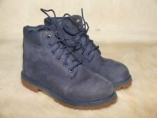 Kids PreSchool Timberland 6 Inch Premium Classic Boots in Navy Size 2.5 [3773A]