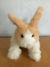 Furreal Friends Hop N Cuddle Bunny Rabbit Interactive Sounds Moves Hasbro