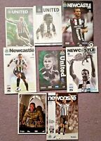Newcastle United Football Programmes Bundle From The last 10+ years v Everton