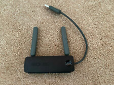 XBOX 360 Wireless N Networking WiFi Black USB Adapter Official OEM Original