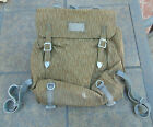 East German NVA Rain Camo backpack w/ Y Strap suspenders in ex. cond., free ship