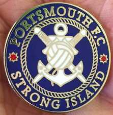 PORTSMOUTH STRONG ISLAND  ENAMEL PIN