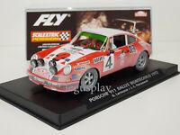Slot Car Fly E2014AR Porsche 911 #4 Rallye Montecarlo 1972 Efecto Barro Lted.Ed