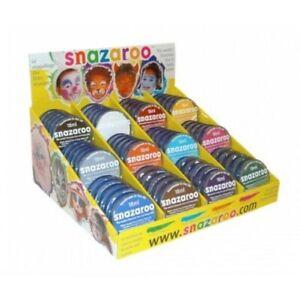 Snazaroo Face Paint 75ml Classic Colours Fancy Dress Make Up Paints