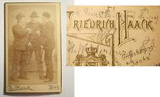 Jena - Landsmannschaft Suevia + Cheruscia Leipzig - SS 1893 - W. Rein - CDV