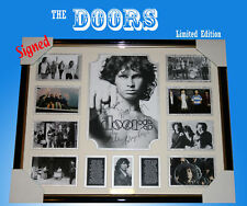 THE DOORS Memorabilia signed frame, limited edition to 499 only with C.O.A