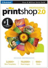 THE PRINT SHOP 2.0  PROFESSIONAL (pc, 2009) *NEW,SEALED*