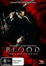 Blood - The Last Vampire (DVD, 2009) CLOSE TO NEW