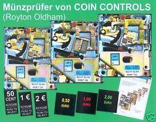 mechanischer Euro-Münzprüfer für Flipper, Dart, TV und usw. - nach Wahl!