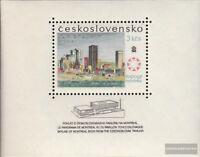 Tschechoslowakei Block26 (kompl.Ausg.) gestempelt 1967 Expo