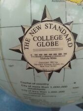New Standard college Globe 1957 Rare in this condition.