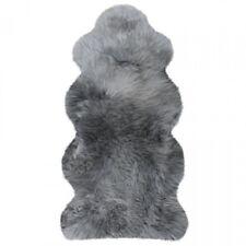 Lammfelle Australisches Lammfell 1 1/2 Fellen Grau ca. 140 x 68 cm Naturform