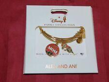NEW Disney Parks ALEX & ANI double bracelet INCREDIBLE MOM Gold Tone New NWT