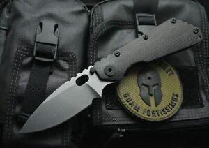 CNC D2 Blade Carbon Fibre+TC4 Titanium Handle Pocket Folding Knife EDC DF118