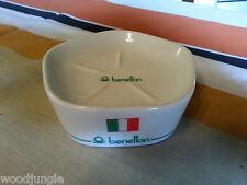 Vintage BENETTON SOAP DISH UNITED STATES FLAG GREAT BRITAIN JAPAN ITALY CANADA