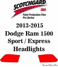 3M Scotchgard Paint Protection Film Pro Series 2013 - 2015 Dodge Ram 1500 Sport