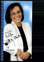 Ruth Walther HR Autogrammkarte Original Signiert ## BC 24440