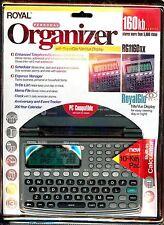 New Royal Pda Handheld Personal Organizer 160kb Rg1160nx Royal Glo Lcd Display