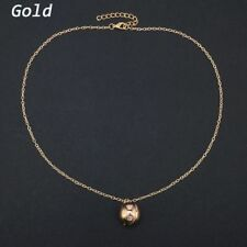 Fashion Gold/Silver Ball Locket Gift Open Conceal Necklace Pendant Jewelry