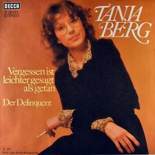 """7"""" Tanja Mountain forget is easier said than done Decca Orig. 1973 MINT!"""