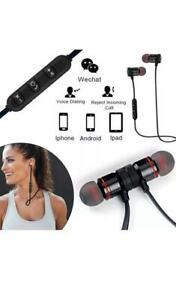 Sports In-Bluetooth Wireless Sports Headphones Earphones stereo Headset With Mic