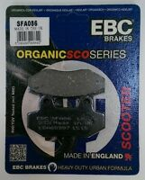 EBC Organic FRONT Disc Brake Pads Fits PEUGEOT SPEEDFIGHT 125 (2014 to 2015)