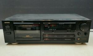 Aiwa AD-F410 Cassette Tape Deck Player Recorder Vintage HiFi Separates