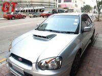 FOR Subaru 04-05 Impreza GD GG WRX Sti Hood Bonnet Intake Vent Scoop