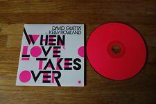 DAVID GUETTA & KELLY ROWLAND - When love takes over - CD 2 TITRES !!! PROMO