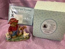 Cherished Teddies NIB! C33 #4007749 Hayden Duck Hunter w/ Dog