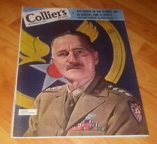 Collier's Magazine Dec 8, 1945 WWII Issue *Power in the Atomic Age - Gen Spaatz*