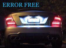 MERCEDES CLASSE C W204 LED Xenon Bianco Luminoso Numero Targa Lampadine Senza Errori